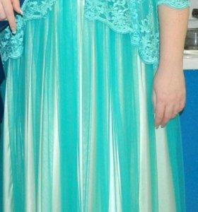 Платье свадебное (выпускное) 54-56 р-р