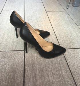 Туфли лодочки нат кожа