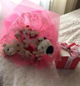 Подарочный набор на свадьбу