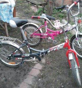 Велосипеды Stels Pilot 450 и 410