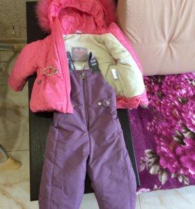 Детский зимний костюм до 84 см по росту.