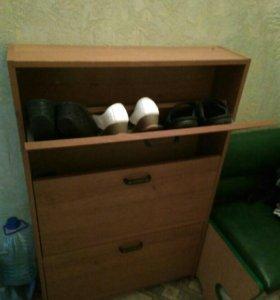 Прихожая и полка для обуви