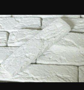 Гипсовая плитка(кирпич)