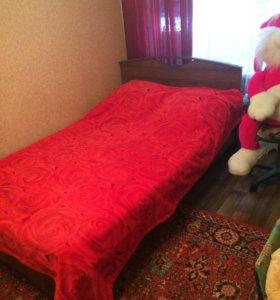 Кровать 2000/1300 с матрасом