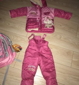 Зимний костюм от 1 до 3лет