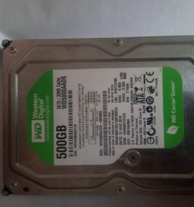 HDD WD Green 500gb