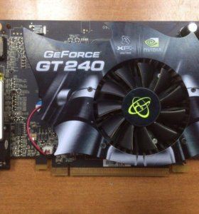 Видеокарта GeForce GT240 512mb