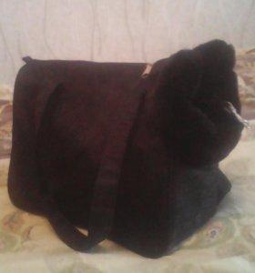 Сумка переноска и одежда для собаки