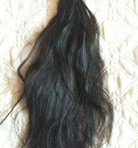 Волосы для наращивания (б/у 3 месяца)