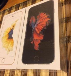 Айфон 6 S Золотой новый