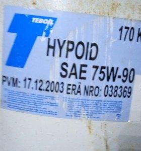 Масло трансмиссионное Teboil Hypoid SAE 75W-90