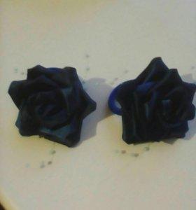 """Резинки для волос """"Розы"""""""