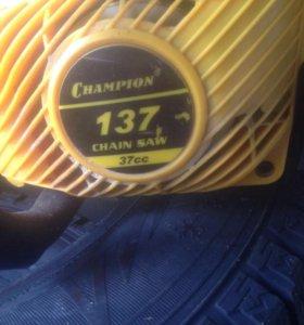 Бензопила champion 37cc