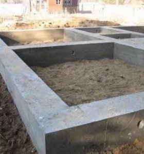 Фундамент, ручная копка