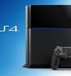 PlayStation 4 500gb+ dual shock + account