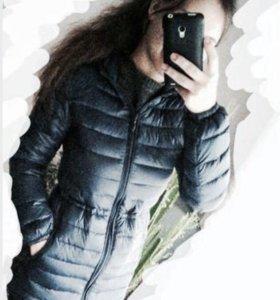 Пальто чёрное befree