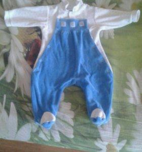 костюм для мальчика от 0 до 6 месяцев