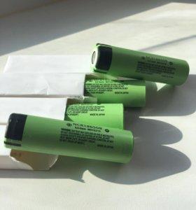 Аккумуляторные батареи 18650 Panasonic