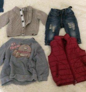 Одежда для мальчика все по 500р