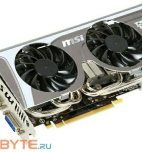 Видеокарта MSI GeForce GTX 560ti