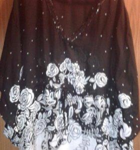Блуза женская шифоновая