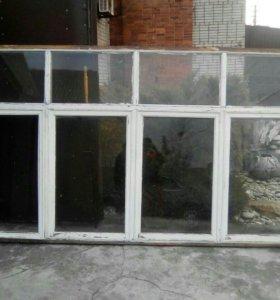 Окно балконное