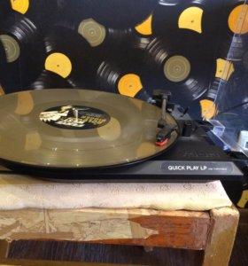 Проигрыватель виниловых дисков ION Quick Play LP