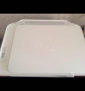 HP цветный принтер, сканер, ксерокс