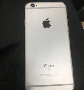 Телефон новый 6s 64гб чёрный