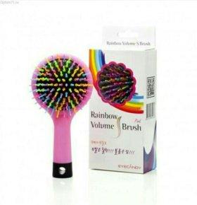 Массажные расчёски Rainbow Volume S Brush новая