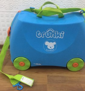 Детский чемодан-игрушка trunki