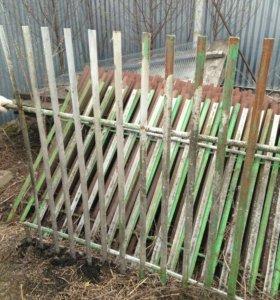 Забор стальной,секционный