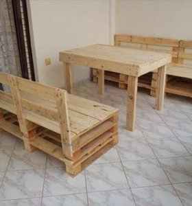 Комплект мебели из паллет