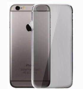 Чехол iPhone 6/6s силикон черный