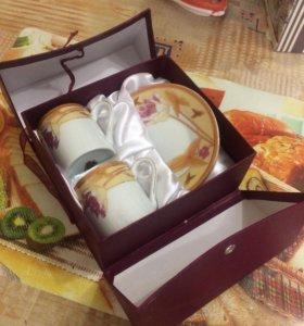 Набор кофейный(2чашечки +2тарелочки)