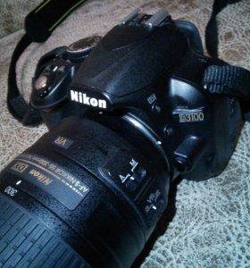 Nikon d3100 nikkor 55-300