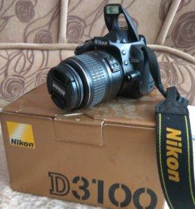 Nikon d3100 nikkor 18-55mm