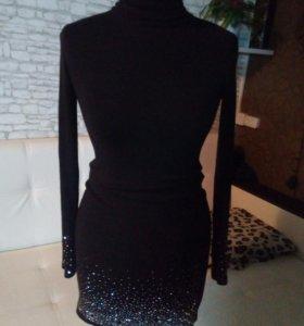 Платье - водолазка