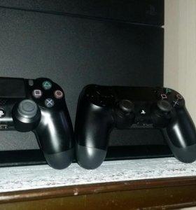 SONY PS4  Матовая 500гб и 2 джоя