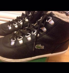 Тёплые ботиночки Lacoste