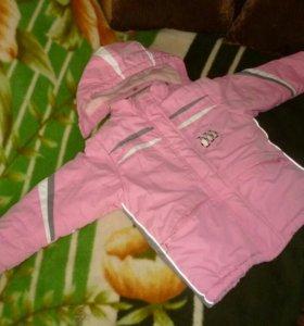 Зимний комбинезон для девочки 4-6 лет