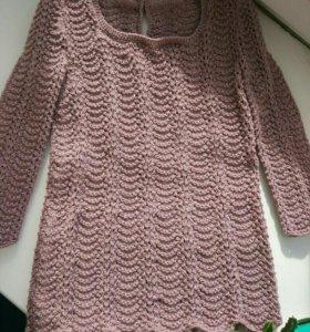 Платье детское вязаной, ручная работа