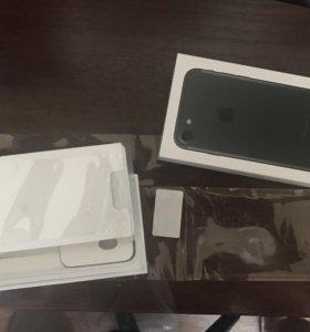 iPhone 7 32gb чёрный матовый