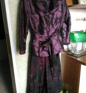 Комплект юбка+блуза