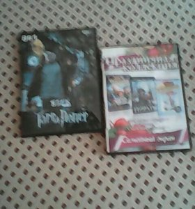 Два диска(фильма) все сезоны гарри поттера