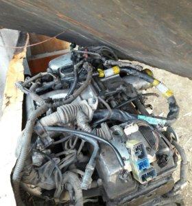 Двигатель 2jz-ge в разбор