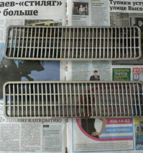 Хромированные решетки капота а/м ВАЗ 2103 2106