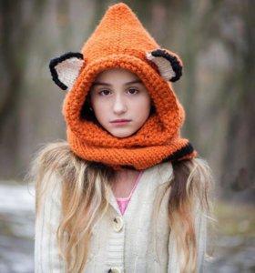 Шапка лисица