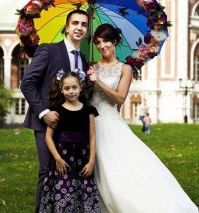 Зонт аксессуар для фотосессии