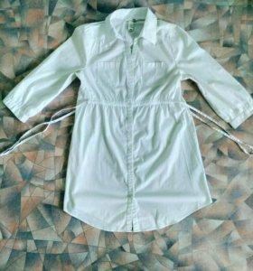 Рубашка H&M белая